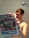 Reading Form in the shower