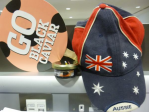 The paddle black lumpfish caviar and the Aussie hat