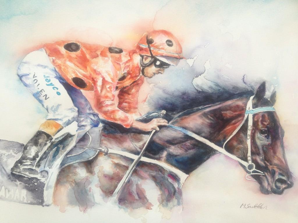 Top Wallpaper Horse Watercolor - bc-painting  2018_726725.png
