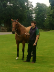 Kind , the dam of Frankel, at the Banstead Manor Stud